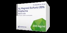 Inj. Magnesii Sulfurici 20% Polpharma