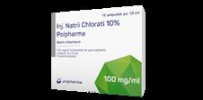 Inj. Natrii Chlorati 10% Polpharma