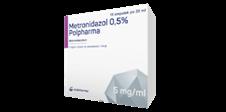 Metronidazol 0,5% Polpharma