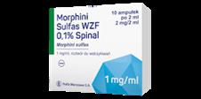 Morphini Sulfas WZF 0,1 % spinal